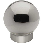 """Lavi Industries, Ball Single Outlet, for 2"""" Tubing, Polished Stainless Steel"""