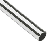"""Lavi Industries, Tube, 1.5"""" x .050"""" x 6', Polished Stainless Steel"""