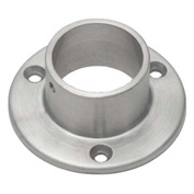 "Lavi Industries, Flange, Wall, for 1.5"" Tubing, Satin Stainless Steel"