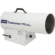 L.B. White® Portable Gas Heater Tradesman 170N Ultra, 170K BTU, Natural Gas W/Diagnostics