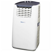 NewAir Portable Air Conditioner With Heat AC-14100H - 115V, 14,000 BTU, White/Gray