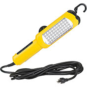 Lind Equipment LED5015G 50 Led Work Light, 15' 16/3 SJT Cord, Magnet Mount, Dual Hooks & 13A Outlet