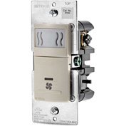 Leviton Humidity Sensor and Fan Control IPHS5-1LT, 120VAC, 60Hz, Single Pole, Light Almond