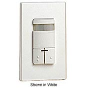 Leviton Ods0d-Idg Dual-Relay, Decora Passive Infrared Wall Switch Occupancy Sensor, Gray - Min Qty 2