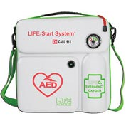 LIFE® StartSystem AED Case and Oxygen System, #LIFE-O2-LSS