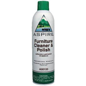 Misty Aspire Furniture Polish Cleaner, 12 Oz. Aerosol 12/Case - AEPA13320