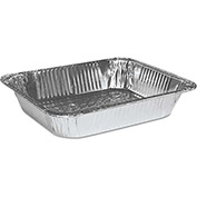 "Boardwalk BWKSTEAMHFDP - Steam Table Pan, Half Size, 2"" Deep, Aluminum, 100/Case"