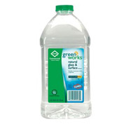 Clorox Greenworks Natural Glass & Surface Cleaner RTU, 64 Oz. Bottle 6/Case - COX00460CT