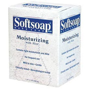 Softsoap Moisturizing Soap W/ Aloe Refill Unscented, 800mL Dispenser 12/Case - CPM01924CT