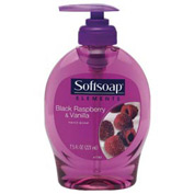 Softsoap® Elements Hand Soap Black Raspberry & Vanilla, 7.5 Oz. Pump 12/Case - CPM29522CT