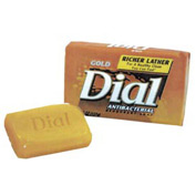 Dial Deodorant Unwrapped Bar Soap, 2.5 Oz. 200/Case - DPR00098
