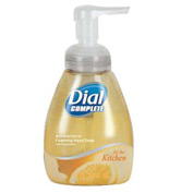 Dial Complete Antimicrobial Foaming Hand Wash Soap Light Citrus, 7.5 Oz. Pump 8/Case - DPR06001CT