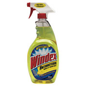 Windex Antibacterial Multi-Surface Cleaner, 32 Oz. Trigger 8/Case - CB703469