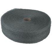 Industrial-Quality Steel Wool Reels #2 Medium Coarse, 6/Pack - GMA105045