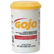Gojo Lemon Hand Cream Cleaner, 4-1/2 Lb. Jar 6/Case - GOJ0905