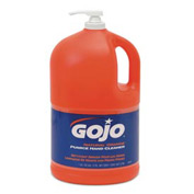 Gojo Natural Orange Pumice Hand Cleaner Orange Citrus, Gallon Bottle 4/Case - GOJ095504CT