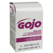 Gojo NXT Lotion Soap W/ Moisturizers Refill Light Floral, 1000mL 8/Case - GOJ211708CT