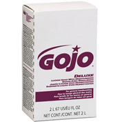 Gojo NXT Deluxe Lotion Soap W/ Moisturizers Refill Floral, 2000mL 4/Case - GOJ2217