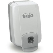 Gojo NXT Maximum Capacity Lotion Soap Dispenser, Dove Gray 2000mL Refill - GOJ2230