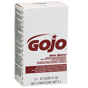 Gojo Spa Bath Body & Hair Shampoo Refill Herbal, 2000mL 4/Case - GOJ2252