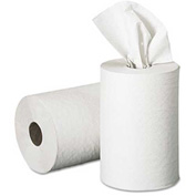 Georgia Pacific 1-Ply Hardwound Nonperforated Paper Towels, White 350 Ft./Roll 12/Case - GEP28706