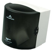 "Georgia Pacific Center-Pull Towel Dispenser 10-7/8"" x 10-3/8"" x 11-1/2"" Translucent Smoke - GEP58201"