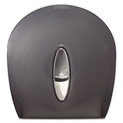 "Jumbo Jr. 9"" Bathroom Tissue Dispenser 10-3/5"" x 5-2/5"" x 11-2/7"", Translucent Smoke - GEP59009"