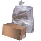 """55-60 Gallon Industrial Drum Liners 38"""" x 63"""" 2.70 Mil, Clear 50/Pack - JAGD38634CL"""