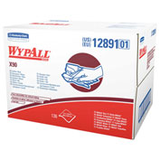 "Wypall X90 Industrial Cloths 11"" x 16-4/5"", White 136/Case - KIM12891"