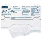 Scott Personal Toilet Seat Covers, 125 Sheets/Pack 24/Case - KIM07410CT