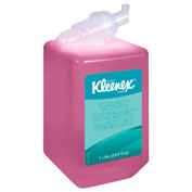 Kleenex Foam Skin Cleanser W/ Moisturizers Light Floral, 1000mL Cassette 6/Case - KIM91552CT