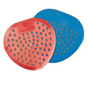 Krystal Urinal Screen Cherry Scent, Red 12/Case - KRS1001