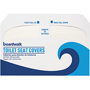 Premium 1/2 Fold Toilet Seat Covers, 250 Covers/Sleeve 10/Case - BWKK2500