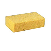 "Premiere Large Cellulose Sponge 3-2/3"" x 6"" x 1-1/2"", Yellow 24/Case - PMPCS2"