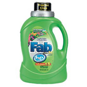 Fab® 2X HE Laundry Detergent Spring Magic, 50 Oz. Bottle 6/Case - PBC37060