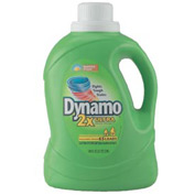 Dynamo® 2X Ultra Liquid Laundry Detergent Sunshine Fresh, 100 Oz. Bottle 4/Case - PBC48110