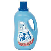 Final Touch® Ultra Liquid Fabric Softener Spring Fresh, 120 Oz. Bottle 4/Case - PBC58420CT