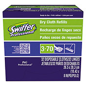 Swiffer® Dry Refill Cloths For Swiffer Sweeper, 32 Wipes/Box, 6 Boxes/Case - PAG33407CT