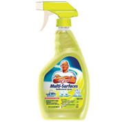 Mr. Clean® Multi-Surface Cleaner Lemon, 32 Oz. Bottle 6/Case - PAG50449CT