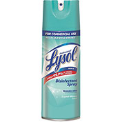 Lysol® Disinfectant Spray Crystal Water Scent, 12.5 Oz. Can 12/Case - RAC84044CT