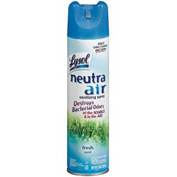 Lysol Neutra Air Sanitizing Spray Fresh Scent, 10 Oz. Aerosol 12/Case - RAC76938CT