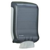 San Jamar® Large-Capacity Ultrafold Towel Dispenser, Black Pearl - SJMT1700TBK