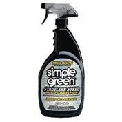 Simple Green Stainless Steel One-Step Cleaner & Polish, 32 Oz. Spray 12/Case - SPG18300CT