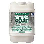 Simple Green Crystal Industrial Strength Cleaner/Degreaser, 5 Gallon - SPG19005
