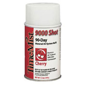 9000 Shot Metered Air Freshener Cherry, 7.5 Oz. Aerosol 4/Case- WTB336414TMCA