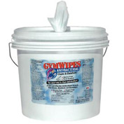 2XL Gymwipes Antibacterial Towelettes Fresh Scent, 700 Wipes/Bucket 2/Case - TXLL100