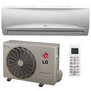 LG Single Zone Inverter Heat Pump System LS120HXV, Mega Series 115V (12K BTU)