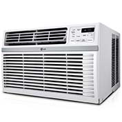 LG LW8016ER Window Air Conditioner with Remote, 8,000 BTU Cool Only, Energy Star, 115V