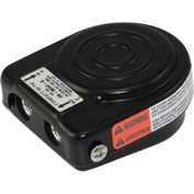 Linemaster 3B-30A2-S Airval Foot Switch, 3-Way Momentary, Black, Steel