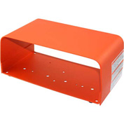 Linemaster 522-B12 Foot Switch Guard, Orange, Steel